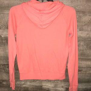 PINK Victoria's Secret Tops - VS PINK lightweight zip-up hoodie